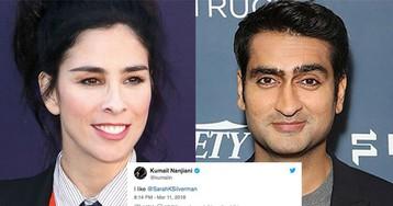 Sarah Silverman and Kumail Nanjiani just had the best Twitter exchange