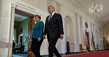 To Merkel's Packed In-Tray, Add Trump's Non-Stop Germany Bashing