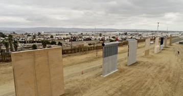 Trump Inspects Border Wall Prototypes in California