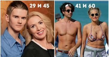 Он на 30 лет младше. Звездные женщины и их юные любовники (26 ФОТО)