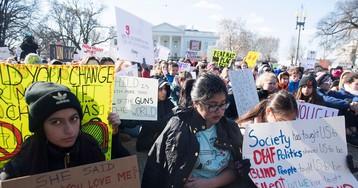 Senators Urge Gun Law Fix While Students Protest Nationwide