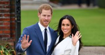 Елизавета II дала согласие на брак принца Гарри и Меган Маркл