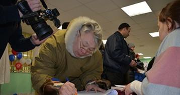 Ямальский тундровик проехал 180 километров наснегоходе, чтоб проголосовать запрезидента