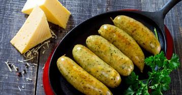 Домашние колбаски с сыром