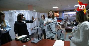 Как голосовали в Красноярске избиратели, которые не видят