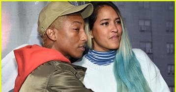 Pharrell Williams & Wife Helen Lasichanh Attend 'Roxanne Roxanne' Screening!