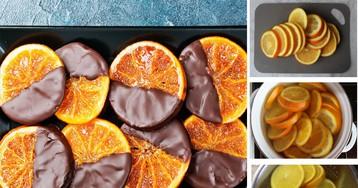 Карамелизованные апельсины в шоколаде: пошаговый фото рецепт
