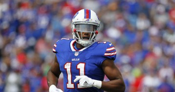 Buffalo Bills receiver Zay Jones arrested after naked, bloody LA argument caught on video