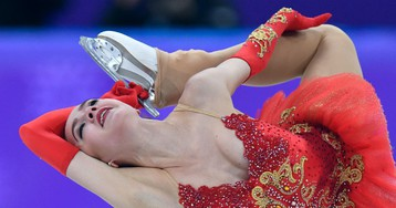 Загитова не ошиблась, но проиграла. Олимпийская чемпионка не возьмёт золото?