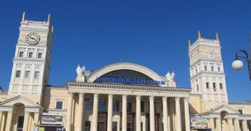 В Харькове 300 человек эвакуированы из-за сообщения о минировании ж/д вокзала