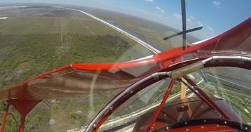Пилот запустил заглохший двигатель за секунду до столкновения c землей