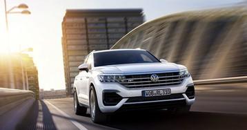 Volkswagen представил новый Touareg