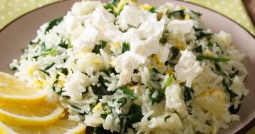 Спанакоризо – рис со шпинатом по-гречески