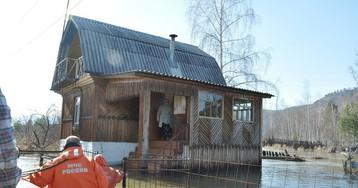 В Хакасии в связи с паводком введен режим ЧС