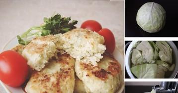 Вкусные постные капустные котлеты: пошаговый фото рецепт