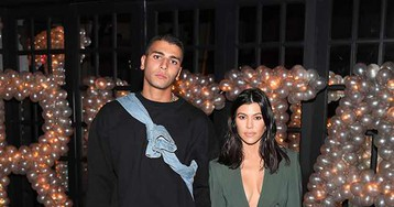 Kourtney Kardashian publica foto sexy com Younes Bendjima