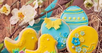 Праздничное печенье на Пасху