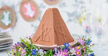 Шоколадная пасха с изюмом