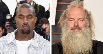 Kanye West Has Been Spotted With Rick Rubin at Calabasas Office