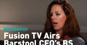 Oh God, Even Our Parent Company Is Airing The Barstool Sports CEO's Evasive, Charming Bullshit