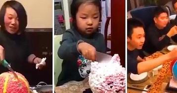 Новый тренд в Японии: торт на день рождения... с сюрпризом