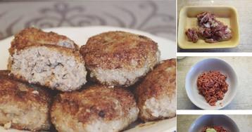 Очень нежные котлеты из куриных желудочков: пошаговый фото рецепт