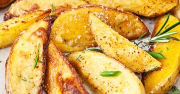 Запеченный картофель с розмарином по рецепту Джейми Оливера