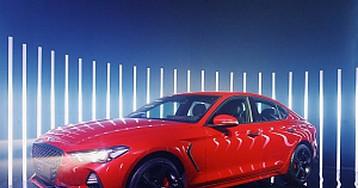 Седан Genesis G70 дебютировал в России