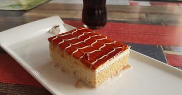 """Турецкий десерт """"Трилече"""" с карамелью"""