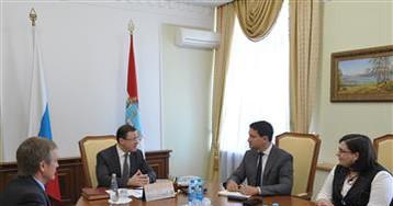 Дмитрий Азаров и Эрик Бриссе обсудили проекты в области цифровой энергетики