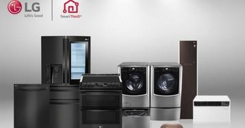 LG SmartThinQ appliances now speak with Amazon Alexa