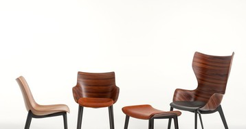 philippe starck proves wood is just as good for plastic fantastic kartell