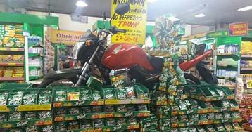 O caso do supermercado que sorteou uma moto de procedência duvidosa