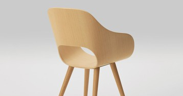 maruni celebrates 90 years with wooden chairs by naoto fukasawa and jasper morrison