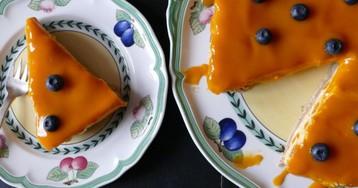 Тарт с манговым муссом