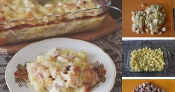 Швейцарская картофельная запеканка с беконом: пошаговый фото рецепт