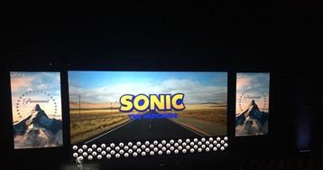 Logotipo para o filme do Sonic é revelado