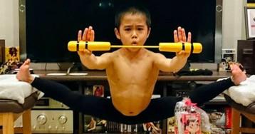 Путь дракона: восьмилетний японец тренируется по четыре часа в день, чтобы стать вторым Брюсом Ли