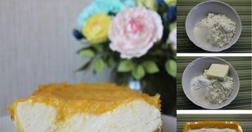 Творожная запеканка без муки с апельсиновым слоем: пошаговый фото рецепт