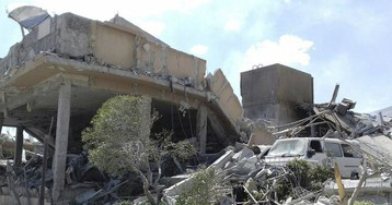 Оружейные склады сирийской армии ночью были атакованы с воздуха
