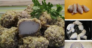 Сочная куриная грудка в панировке из грецких орехов: пошаговый фото рецепт