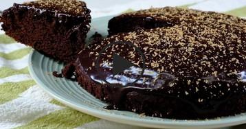 Видео-рецепт: Шоколадный пирог по-мексикански