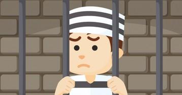Анекдот про грабителя ихакера, попавших водну тюремную камеру
