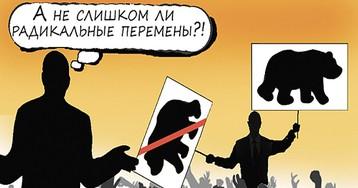Новый срок Путина начался с разочарования по имени Медведев
