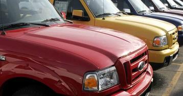 Park `Dangerous' Old Ford Pickups Until Recalls Done, U.S. Says