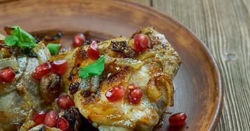Хохоп – курица с луком и гранатом по-армянски