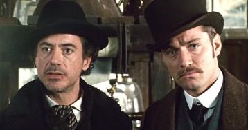 """Роберт Дауни-младший и Джуд Лоу вернутся в третьем """"Шерлоке Холмсе"""""""