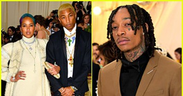 Pharrell Williams, Wiz Khalifa, & More Step Out for Met Gala!