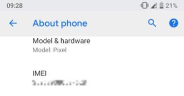 Vazam possíveis novidades sobre o Android P