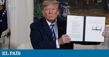 Trump rompe pacto nuclear com o Irã e reimpõe sanções